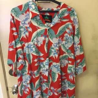 Hawaiian vintage floral shirt