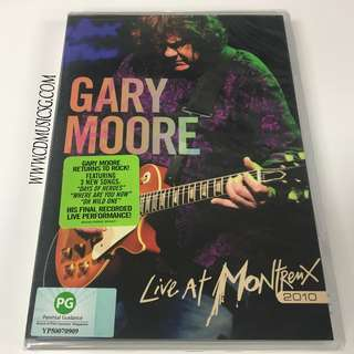 🚚 [DVD] Gary Moore Live At Montreux 2010