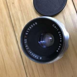 Carl Zeiss Jena Tessar 50mm f2.8 12 Blades
