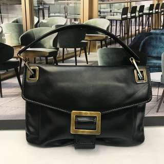 本店特價品Roger Vivier Leather Handbag