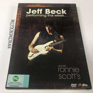 [DVD] Jeff Beck Perfoming This Week - Live At Ronnie Scott's
