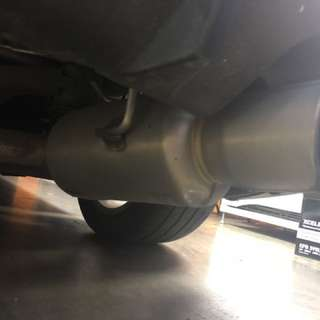08 Wrx hatch exhaust and coil over