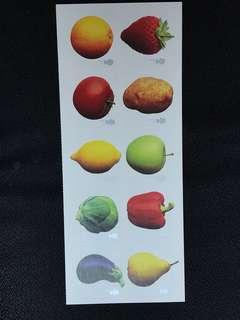 英國水果郵票