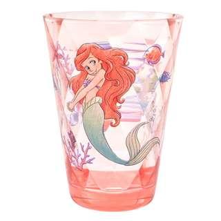 日本 Disney Store 直送 The Little Mermaid 小魚仙 Ariel 樹脂膠杯
