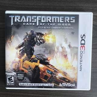 3DS Game - Transformers: Dark of the moon