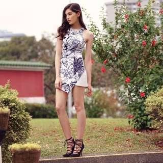 TCL Elena Asymmetrical dress size S