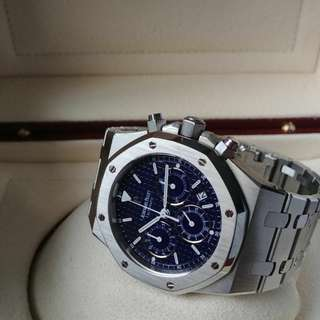 Audemars Piguet Royal Oak Chrono (Blue)