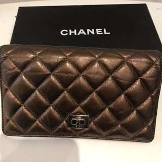 Chanel 2.55 wallet