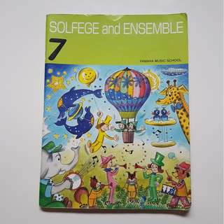 SOLFEGE and ENSEMBLE 7