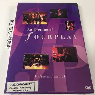 [DVD] An Evening Of Fourplay Volume 1 & 2