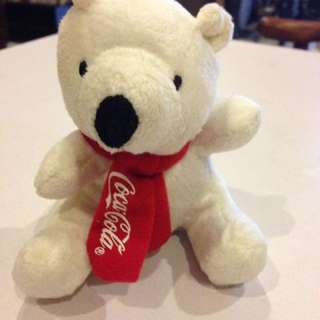Coca cola bear soft toys
