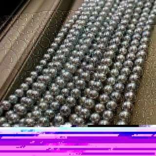 38女神節大特惠 給女神們準備的都是好東西哦🤗 7-7.5mm珠光極品 微小瑕 暈彩漂亮 做單條項鍊 雙層 三層和毛衣鏈 都是給你的氣質加分哦!