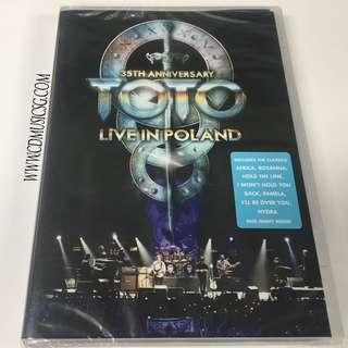 🚚 [DVD] Toto 35th Anniversary Live In Poland