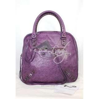 BALENCIAGA 224900 Classic Street 紫色 (Murier) 手提袋 肩背袋 手袋