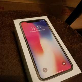 全新未開封 Iphone X 256gb 太空灰