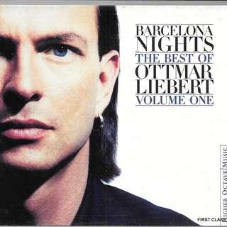 MY PRELOVED CD - THE BEST OF OTTMAR LIEBERT -BARCELONA NIGHT /FREE DELIVERY (F7M)