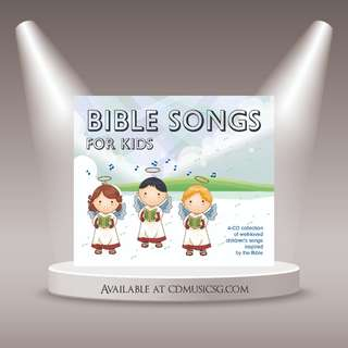 [Babies] CD Bible Songs For Kids