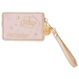 Japan Sanrio Little Twin Stars Pass Case (Pink)
