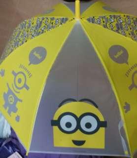 迷你兵團直身雨傘