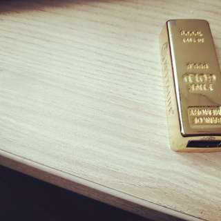 Gold nugget thumbdrive