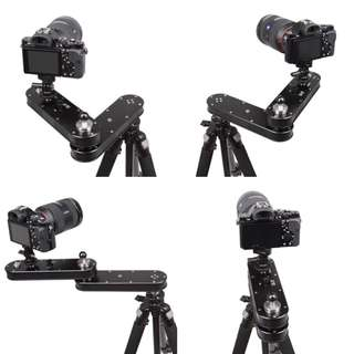 Ripo Portable Camera Slider stabilizer for GoPro DSLR Smartphone Mirrorless cameras