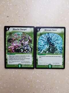 Duel Masters Nature Spells Part 1