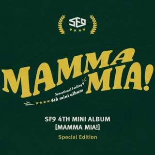 [PREORDER] SF9 4th Mini Album - Mamma Mia! [Special Edition]