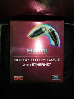 ENE HDMI cable HDMI 線 2m
