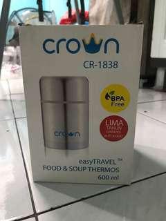 Ex kado crown food jar 600 ml (New!)