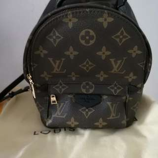 Lv palm spring small backpack