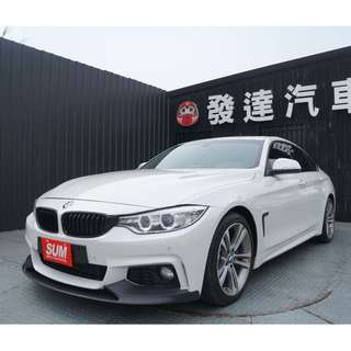 BMW 428I 2015年 2.0 白 Gran Coupe / SportLin