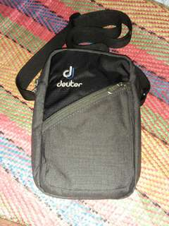 Authentic deuter sling bag..