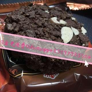台灣代購 義美巧克力酥片