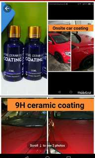 Onsite 9H ceramic coating