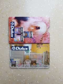 Dulux Rare Phone Card