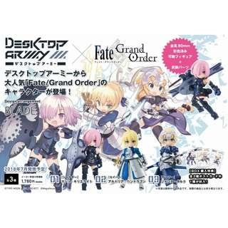 "【預購Pre-Order】【日版Japan Verson】Desktop Army ""Fate/Grand Order"" 預計2018 7月到貨 Estimate Arrival time Jul 2018 (一套三隻)"