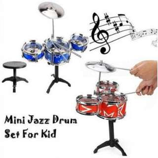 Kids Mini Jazz Drum Play Set