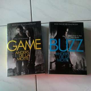 Novels: Game Trilogy by Anders De La Motte