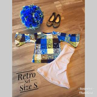 Retro Girl Set