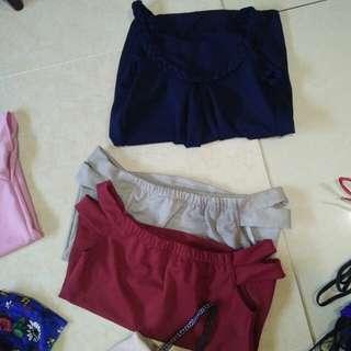 Trensy tops and shorts