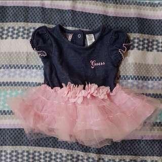 Baby guess tutu dress