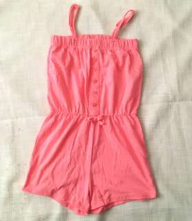 Charity Sale! Authentic Miss Understood Size 9 Girls Pink One Piece Dress Shorts