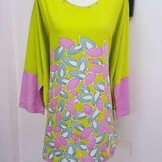 Batik Caftan Blouse
