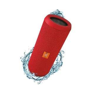 全新JBL Flip 3 防濺水藍牙喇叭 原裝行貨 紅色 打機 浴室 戶外 靚聲 擴音器 Portable Wireless Bluetooth Speaker Red New Splashproof