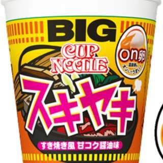 [預售] 日本合味道 壽喜燒杯麵
