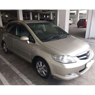 2006 Honda City VTEC (A) with leather-seat