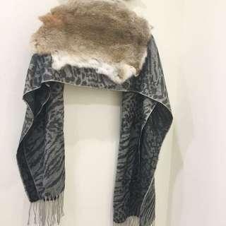 🚚 日牌osmosis雙面圍巾/披肩