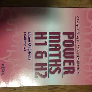 Alevel H1 H2 Math books