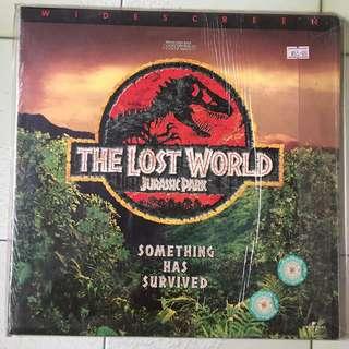 "LASER DISC MOVIE: ""JURASSIC PARK - THE LOST WORLD"""