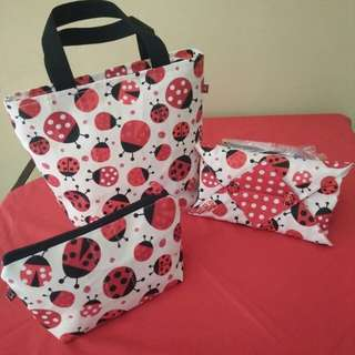 Hand made set lunch bag